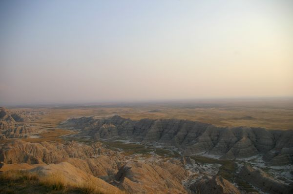 Badlands at Sunset 2