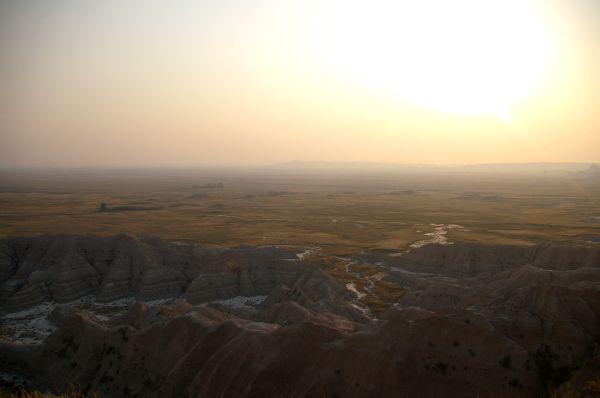 Badlands sunset 3